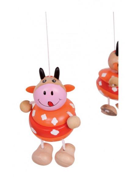 Base Toys houten mobiel koeien
