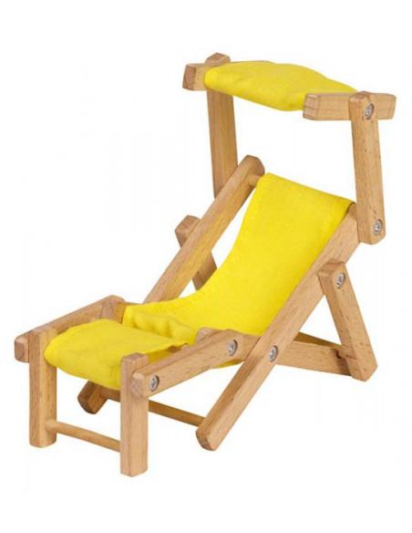 Goki poppenhuismeubel ligstoel
