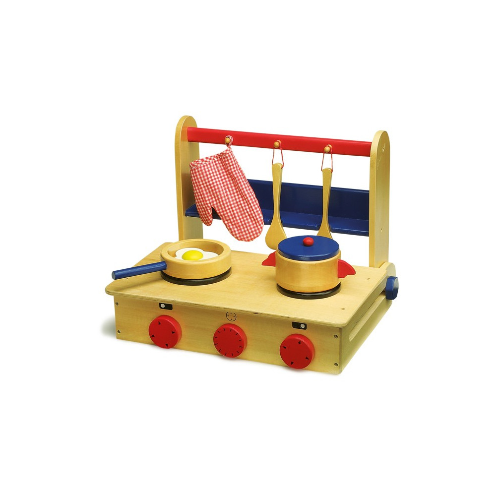 Base Toys kinderkeuken in de koffer