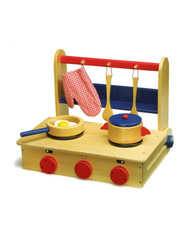 Base Toys kinderkeuken in de koffer