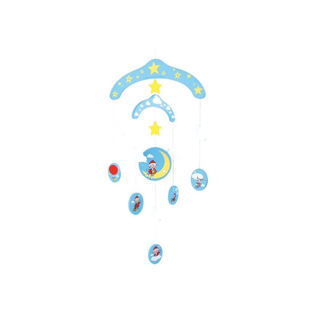 Base Toys Houten mobiel zandmannetje
