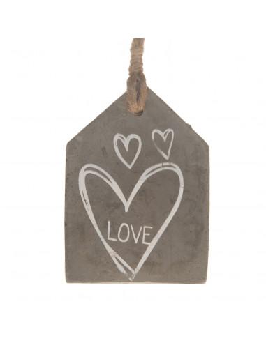Decoratiehanger Cement 'Love' BT