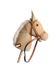 Houten Stokpaard Corduroy
