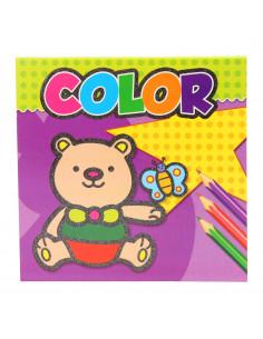 Color Kleuren Binnen de Lijnen Paars