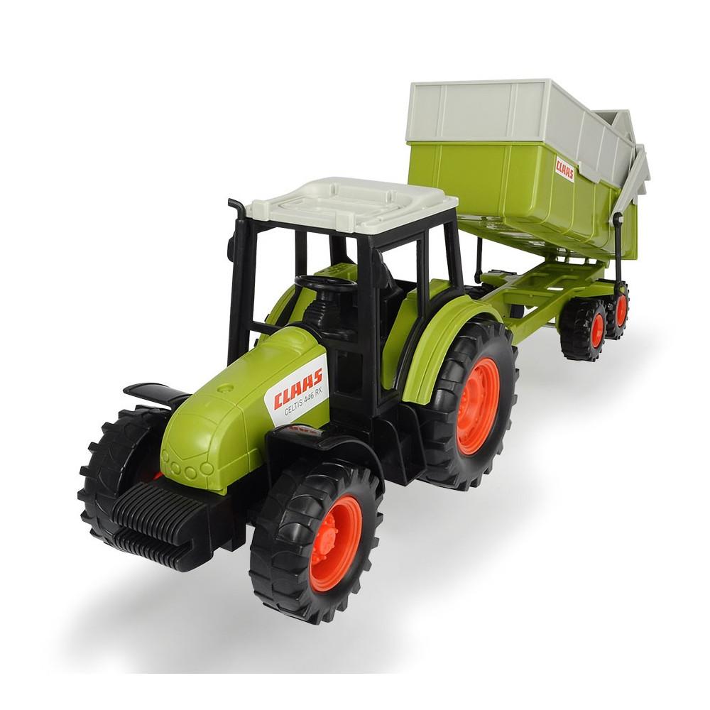 Claas Tractor met Trailer BT