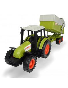 Claas Tractor met Trailer
