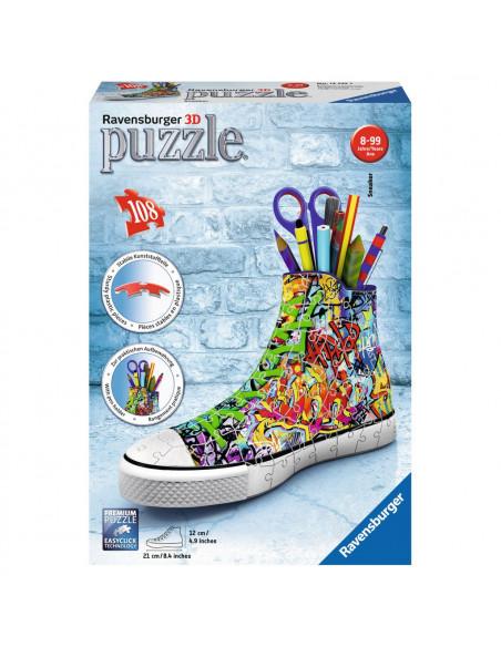 Ravensburger 3D Puzzel - Sneaker Graffiti