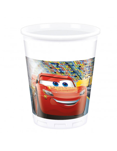 Cars 3 Bekers, 8st.
