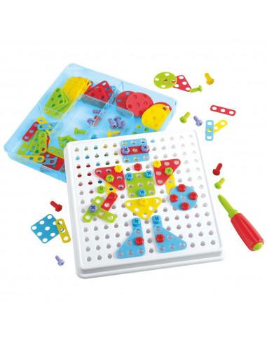 Playgo Constructieset Mozaiek, 180dlg.