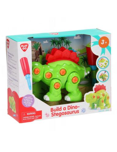 Playgo Bouw je eigen Dino - Stegosaurus