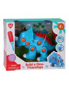 Playgo Bouw je eigen Dino - Triceratops