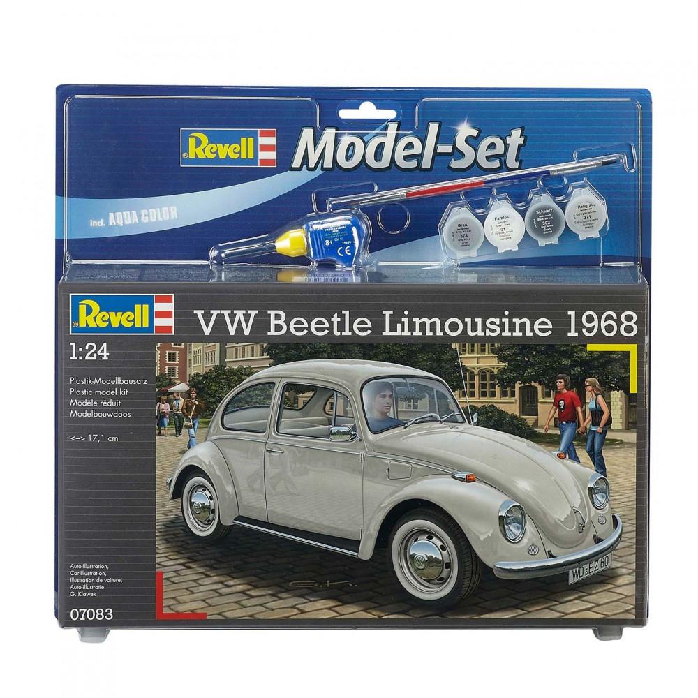 Revell Model Set - Volkswagen Beetle Limousine 68