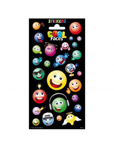 Stickervel Twinkle - Coole Gezichten