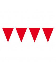 Vlaggenlijn XL Rood, 10mtr.