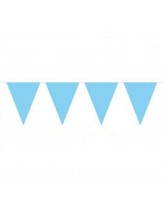 Vlaggenlijn XL Lichtblauw, 10mtr.