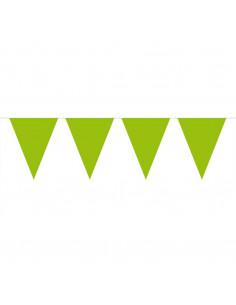 Vlaggenlijn XL Groen, 10mtr.