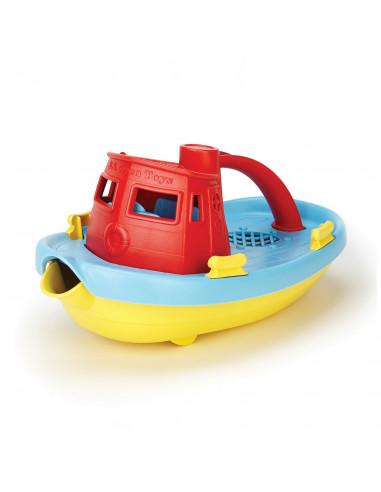 Green Toys Sleepboot - Rood/Blauw