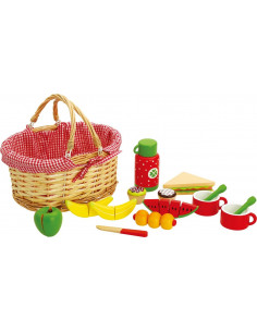 Picknickmand met Inhoud