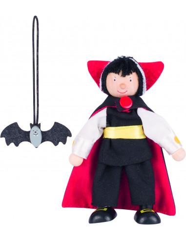 Goki poppenhuispopje Vampier