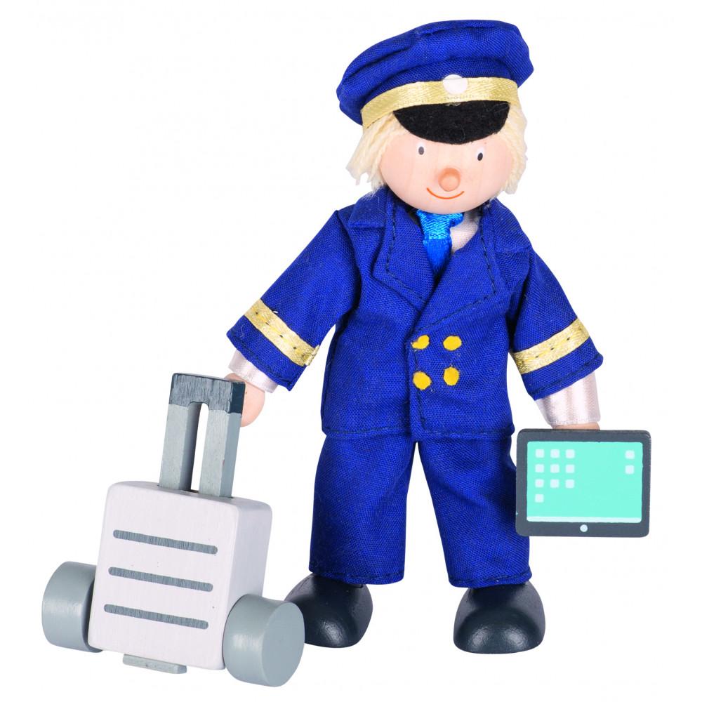 Goki Buigpoppetje Piloot