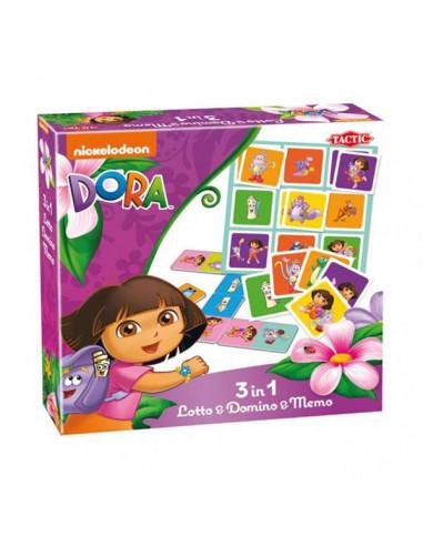 Dora Lotto, Domino & Memo, 3in1