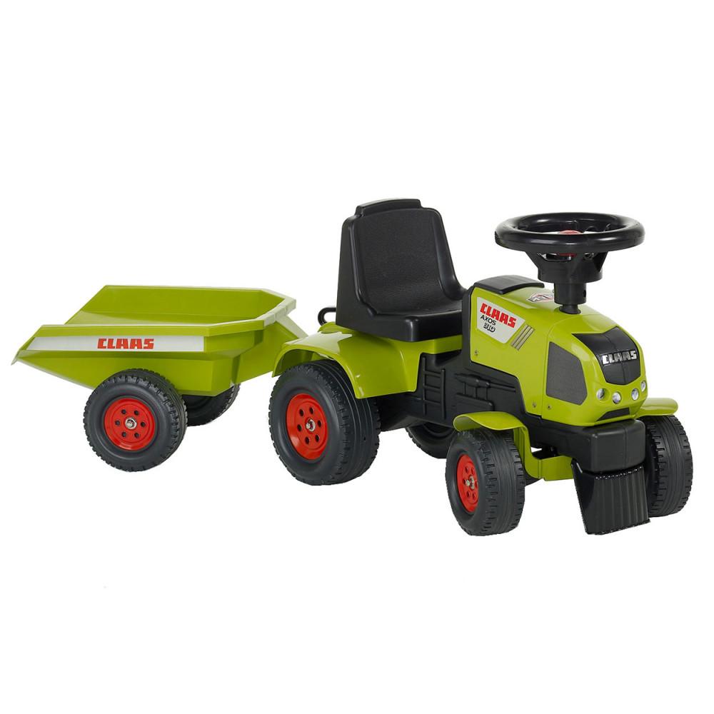 Falk Claas Axos 310 Tractor met Aanhanger