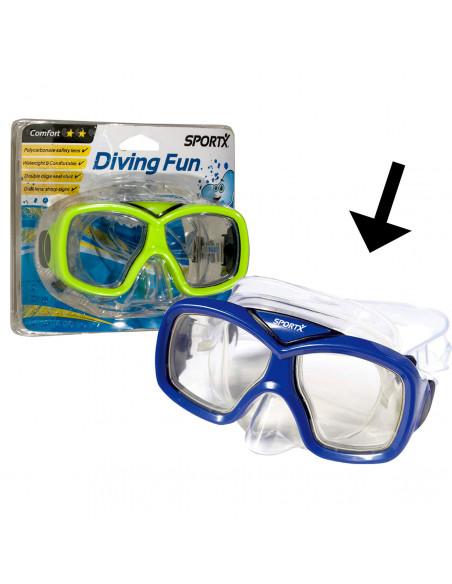 SportX Junior Zwemmasker Blauw