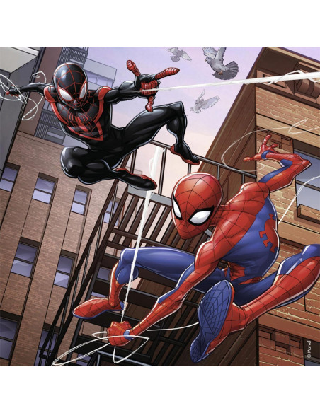 Spiderman Puzzel, 3x49st.