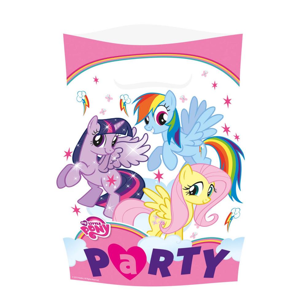 My Little Pony Uitdeelzakjes, 8st.