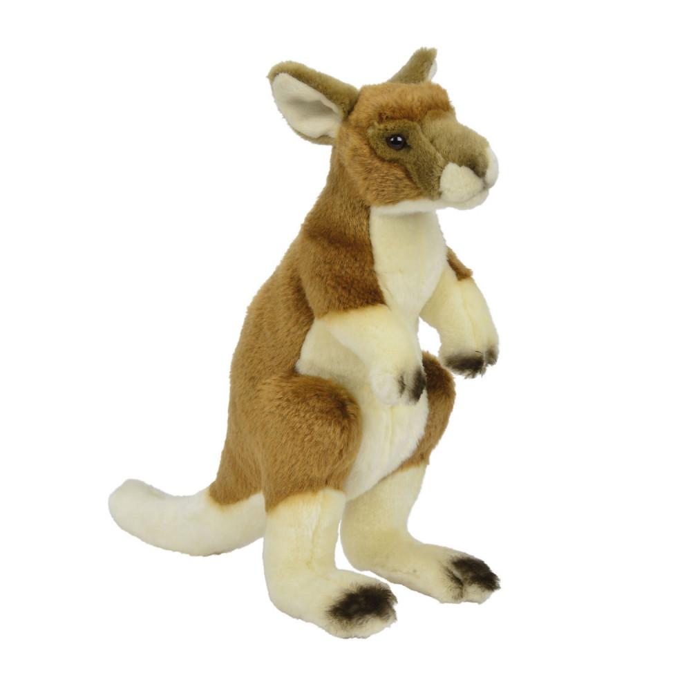 Pluchen Knuffel Kangoeroe, 30cm