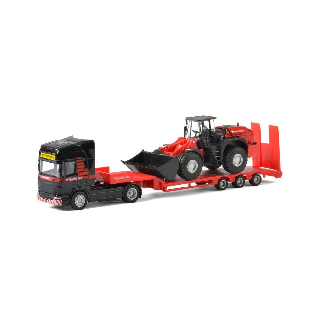 Mammoet Die-cast Vrachtwagen met Bulldozer