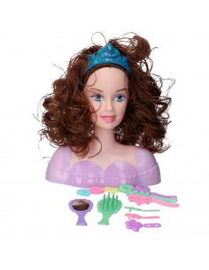 Kappop Met Krullend Haar