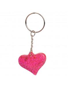 Sleutelhanger - Glitter Hart