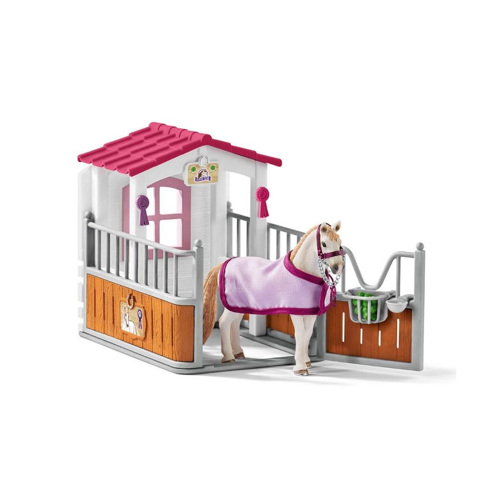 Schleich Paardenbox met Lusitano Merrie
