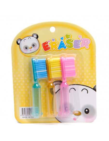Gum - Tandenborstel, setje van 3