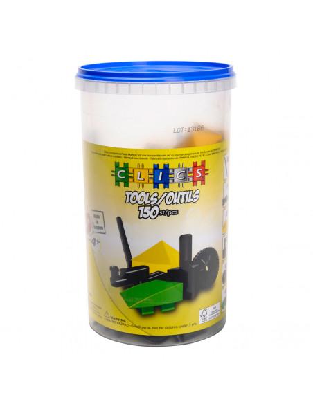 Clics Tube, 150 Tools