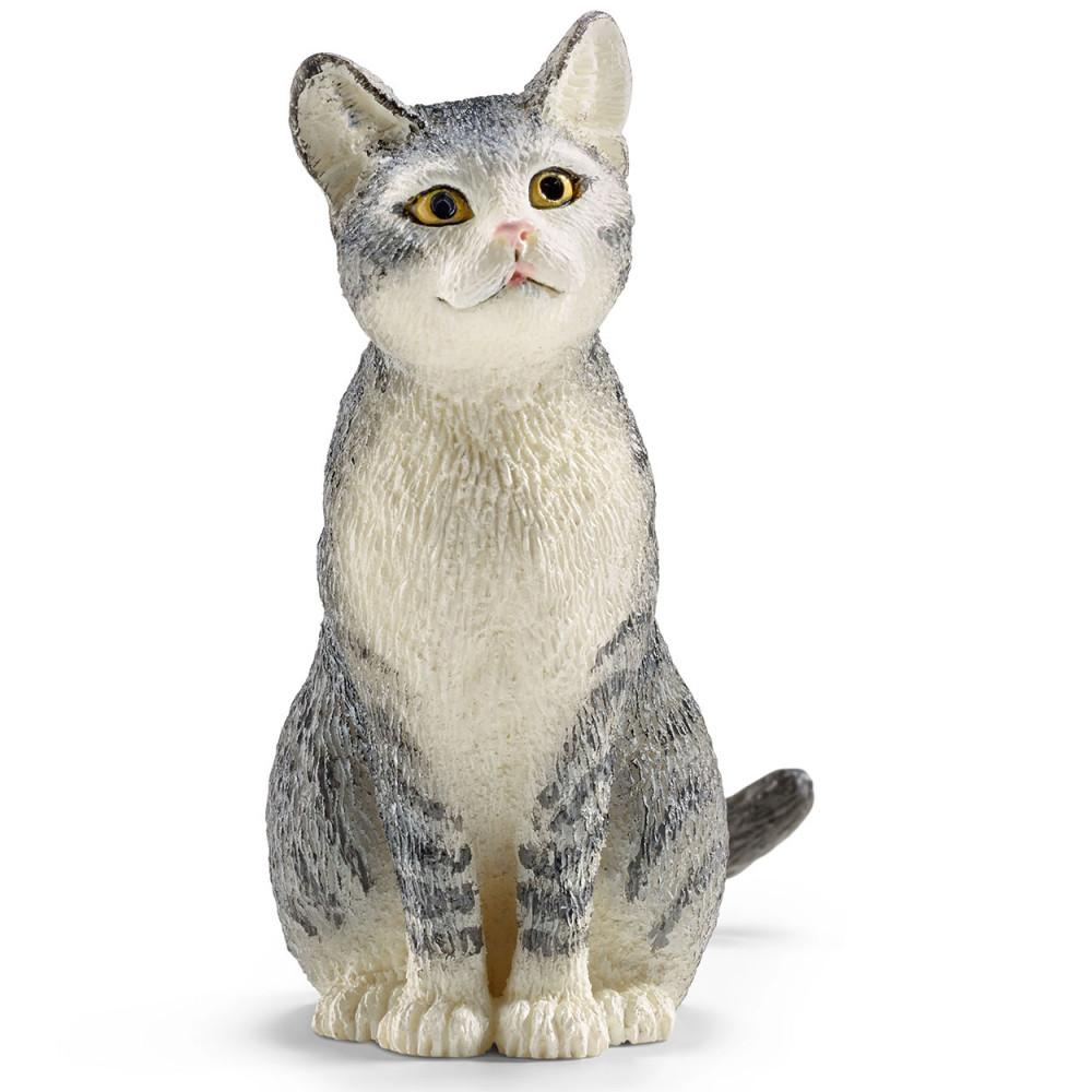 Schleich Kat, Zittend