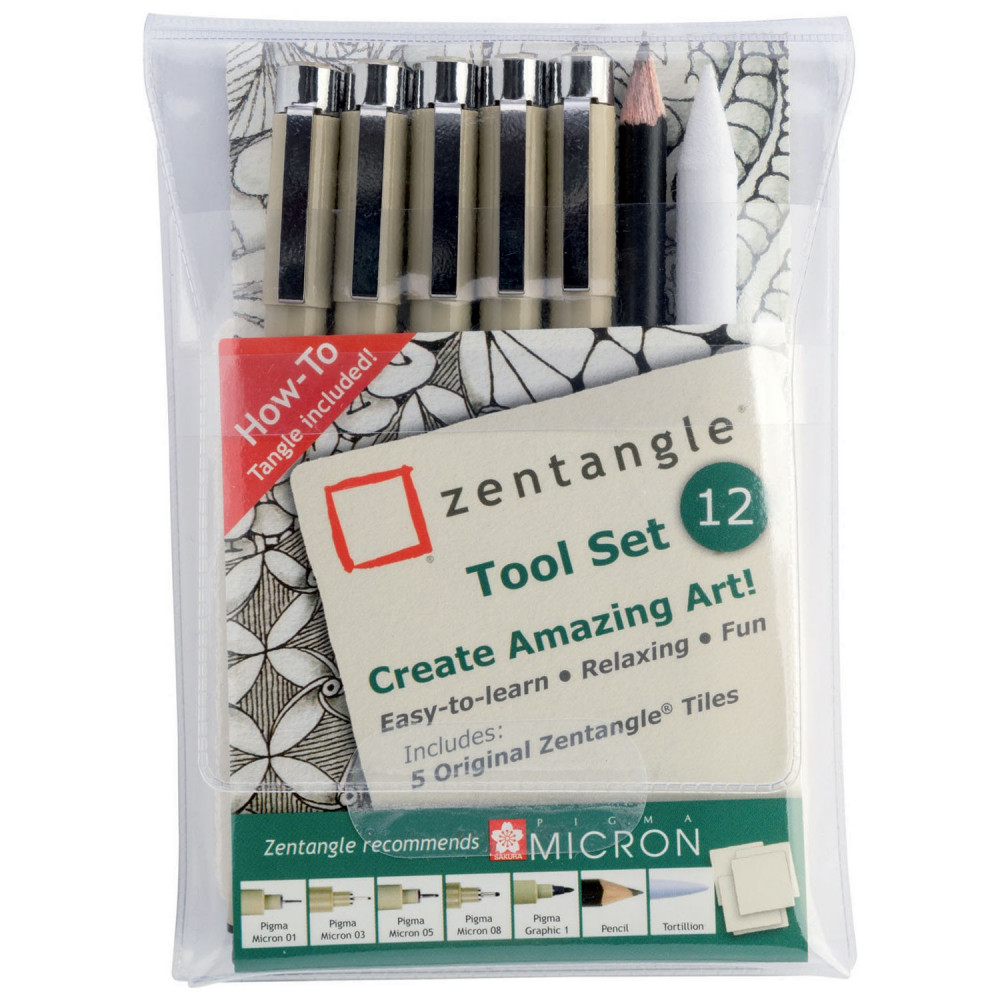 Sakura Zentangle Toolset, 12dlg.