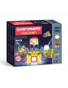 Magformers Neon LED Set, 31dlg.