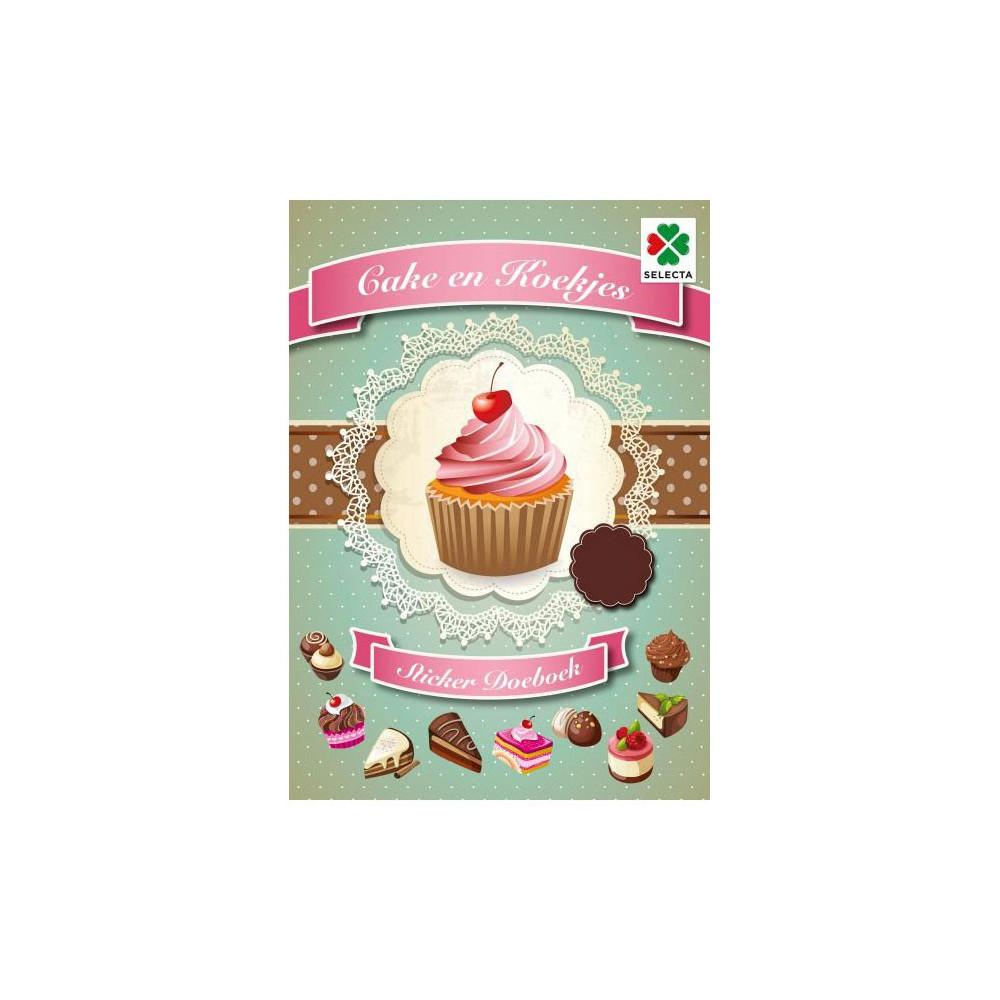 Cake en Koekjes Sticker Doeboek