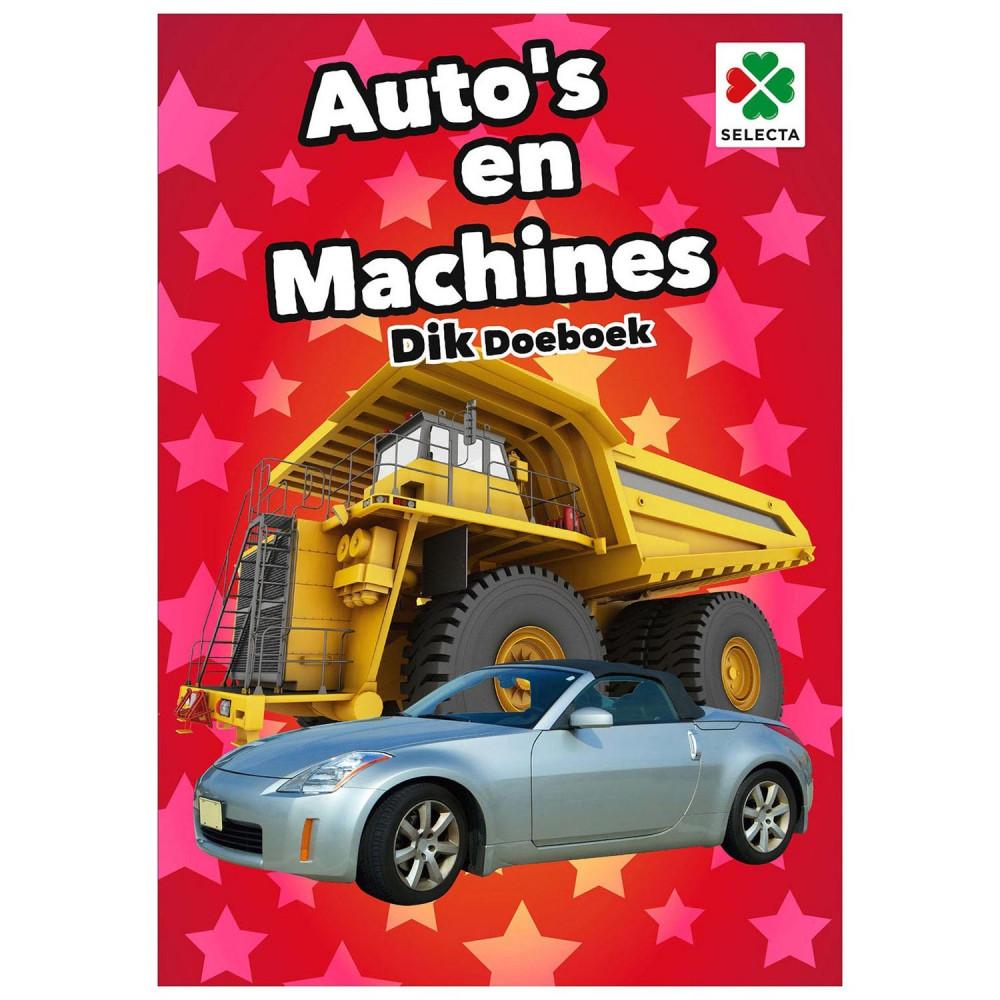 Auto's en Machines Dik Doeboek