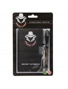 Geheim Logboek met Onzichtbare Pen
