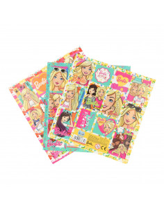 Barbie Stickervel