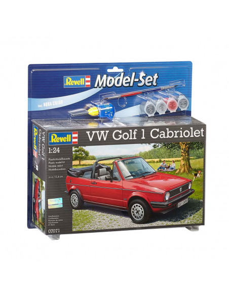Revell Model Set VW Golf 1 Cabrio