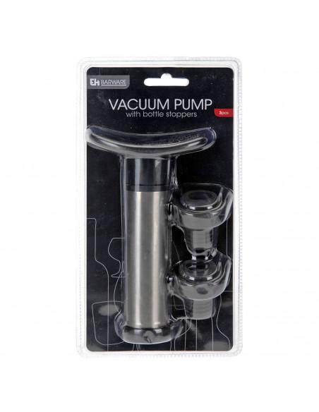 RVS Wijn Vacuumpomp, 3 dlg.