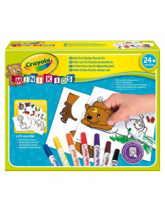 Crayola Mini Kids - Stickerpuzzel Set