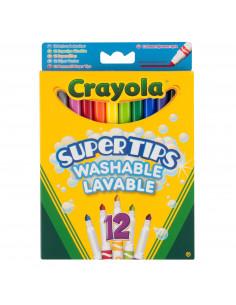 Crayola Viltstiften met Superpunt, 12st.