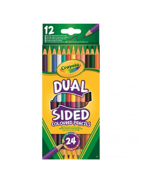 Crayola Duo Kleurpotloden, 12st.