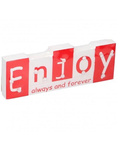 Tekstbord met Led 'Enjoy'