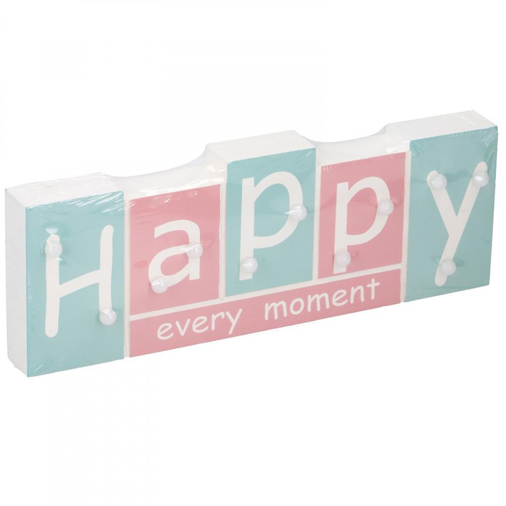 Tekstbord met Led 'Happy'